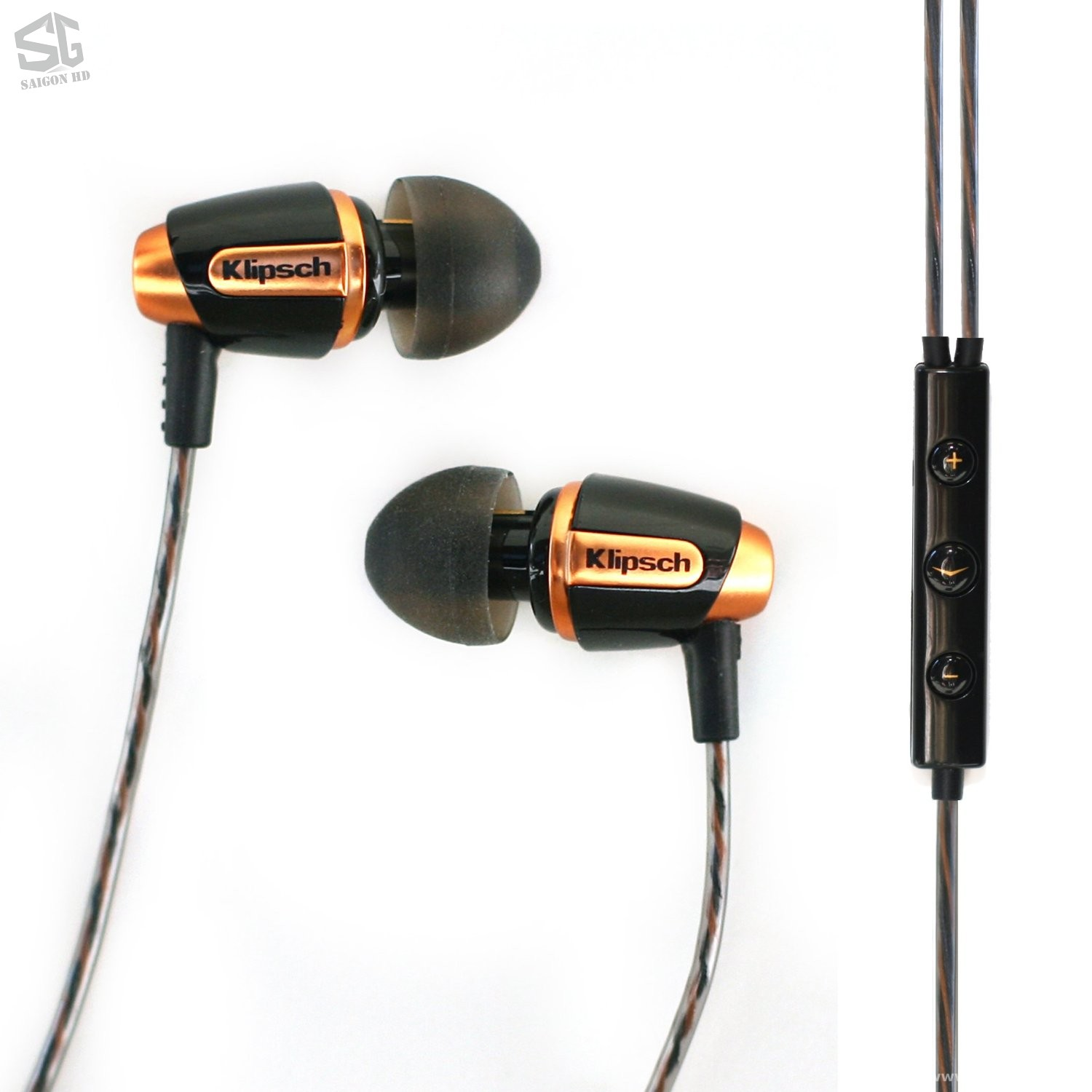 TAI NGHE KLIPSCH REFERENCE S4i BLACK HEADSET