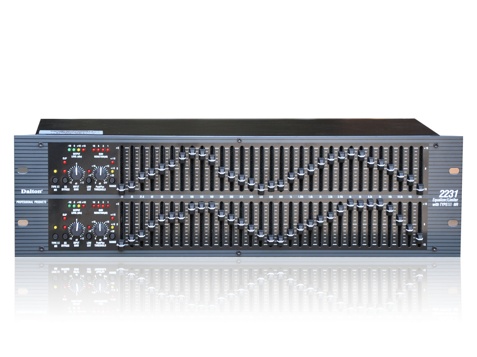 EQUALIZER DALTON EQ-2231, 62 Band