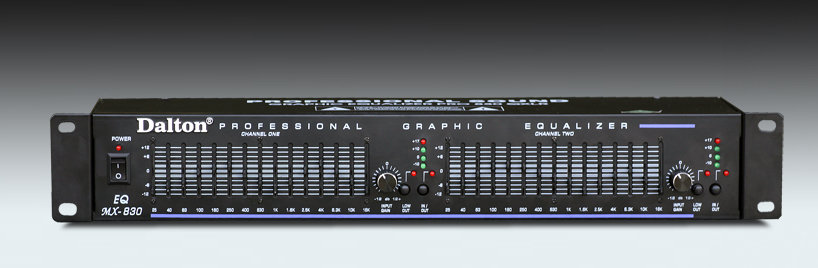 EQUALIZER DALTON EQ-MX-830, 30 band