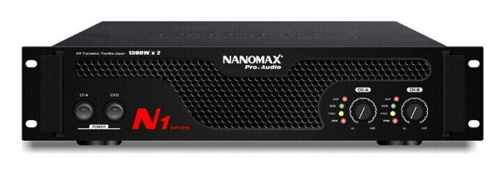 MAIN POWER NANOMAX N1 (1300W x 2)