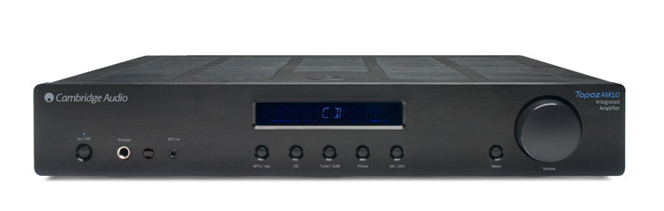 RECEIVER AMPLIFIER TOPAZ AM10 BLACK