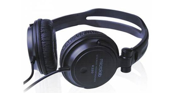 HEADPHONE MICROLAB  K-320