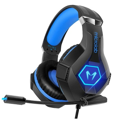 Tai nghe gaming chụp tai (Headphone Gaming) Microlab G7
